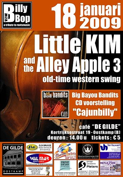 Little Kim & The Alley Apple 3