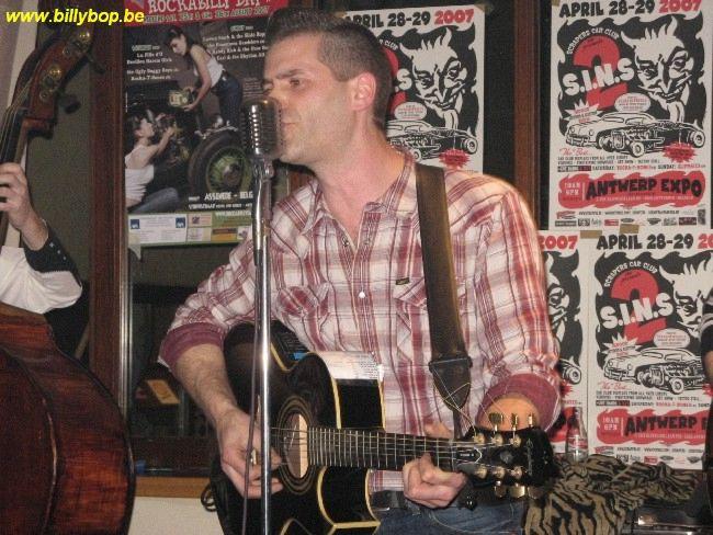 Rocka-T-Bones & Carl & The Rhythm All Stars @ Rockin' Bowl Antwerp 24/03/07